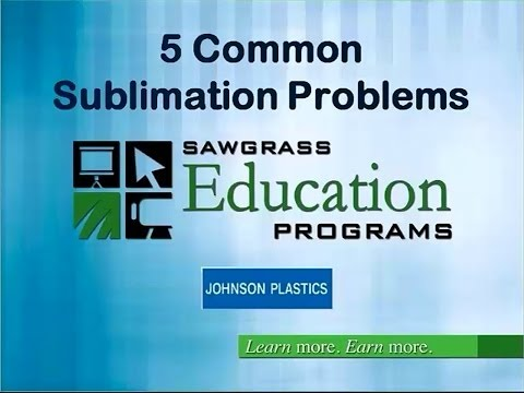 5 Common Sublimation Problems - And How To Avoid Them