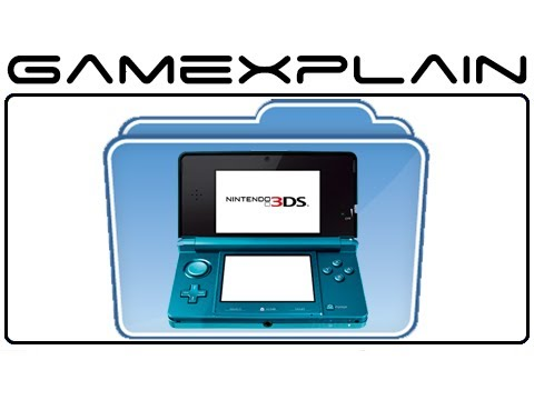 Nintendo 3DS Folder & eShop Update - Video Tour