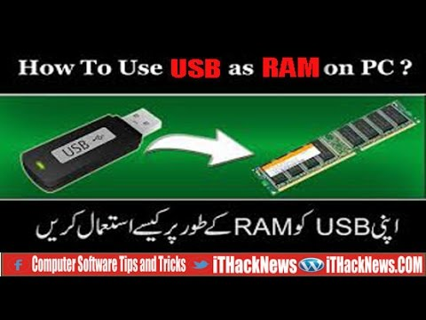 How to use  USB device Esexternal RAM for Pc/Leptop ||