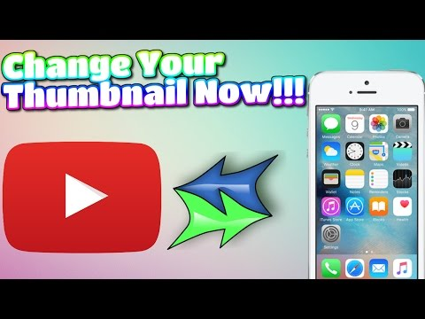 How to Change your Thumbnail on iPhone, iPad,or iPod 2017 TechnoTrend