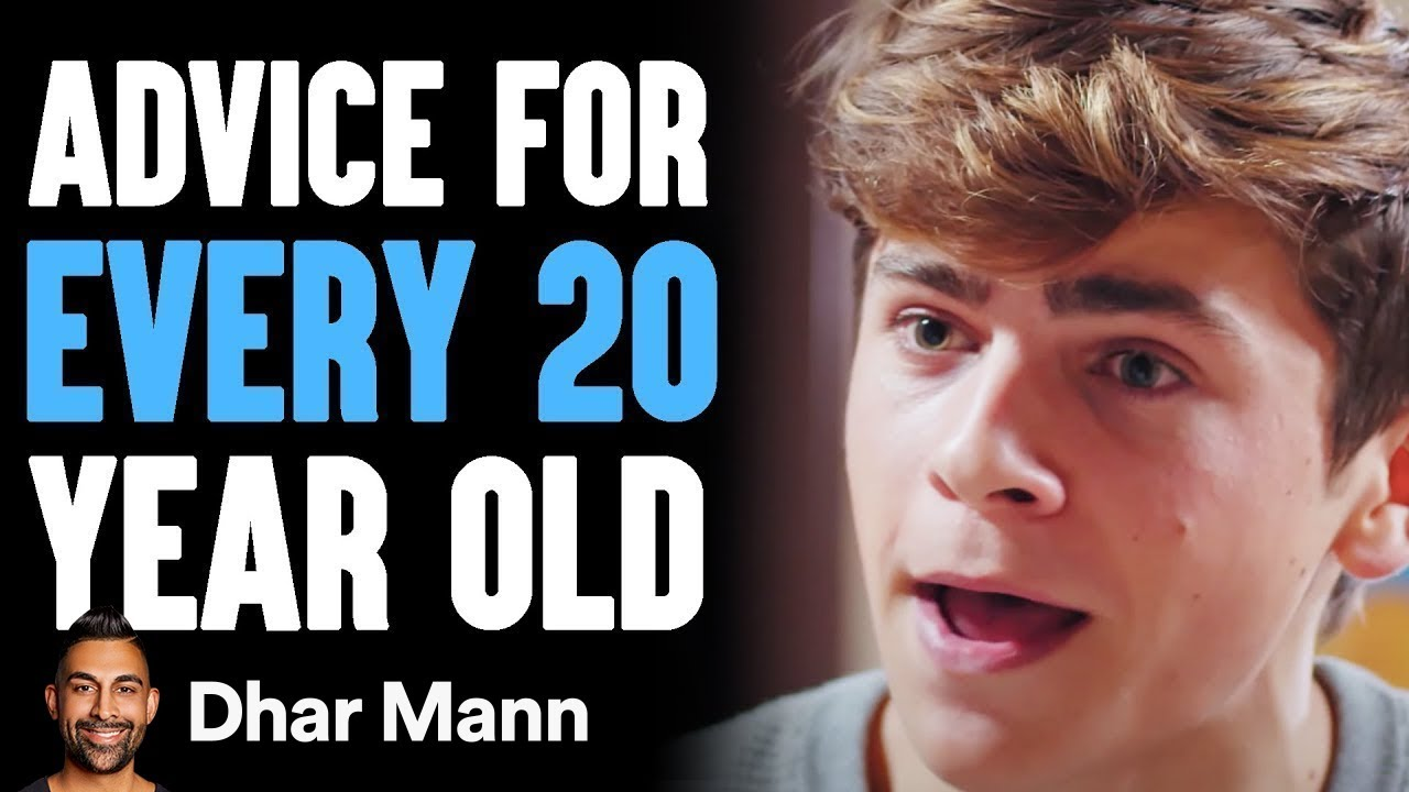ADVICE EVERY 20 Year Old NEEDS To Hear | Dhar Mann