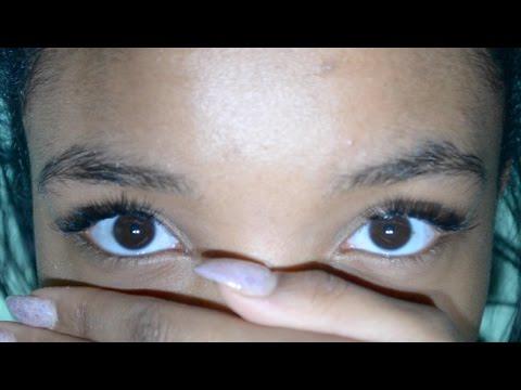 DIY: How I do my ''eyelash extensions''