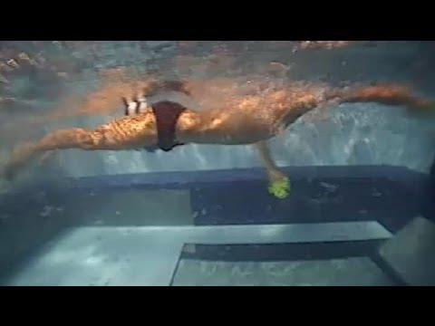 Muscle Building With Swimming Paddles : Swimming to Win