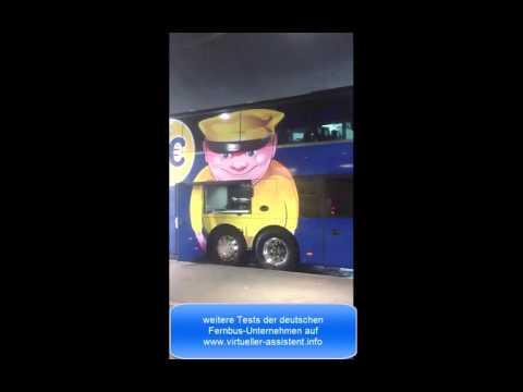 Megabus Fernbus im Test