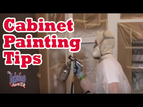 HOW TO PAINT KITCHEN CABINETS. cabinet painting tips.  DIY kitchen remodels