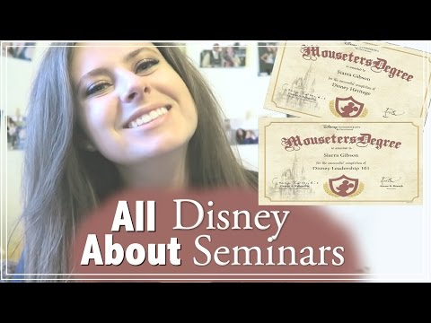 Disney College Program Seminars: Are They Worth It And Would I Recommend Them