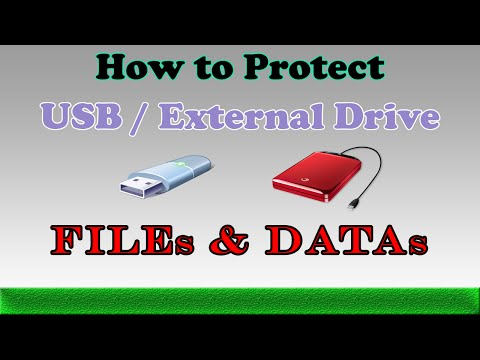Write Protect and Lock USB and External Drives