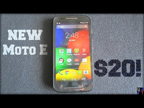 A New Moto E Smartphone Was Cheap  (Unboxing & 1st impressions Tracfone)