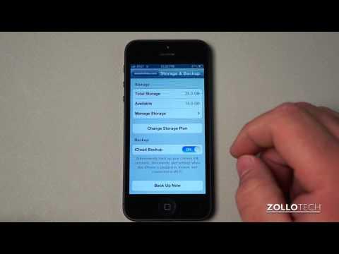 iPhone 5 Tips - iCloud