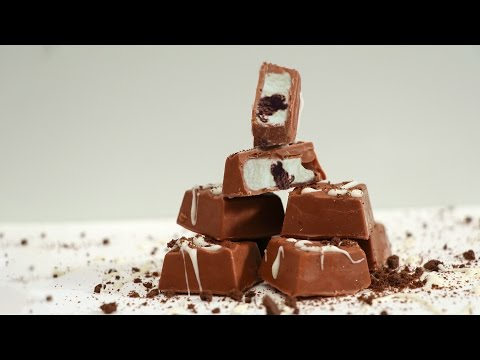 Oreo Cookies Chocolate - How To Make Dairy Milk Oreo Chocolate - Homemade Chocolate Tutorial