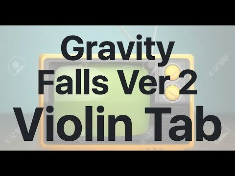 Learn Gravity Falls Ver 2 on Violin - How to Play Tutorial