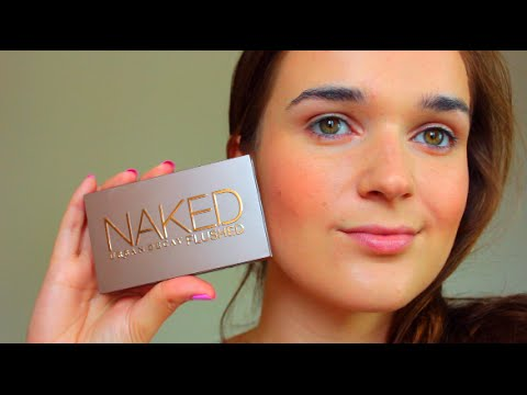Urban Decay Naked Flushed Palette Review & Demo!