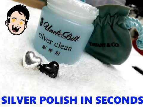 Tiffany and Co. Silver Super QUICK & EASY Polish up tarnished jewelry!