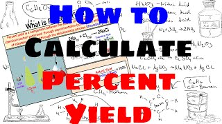 How To Calculate Percent Yield
