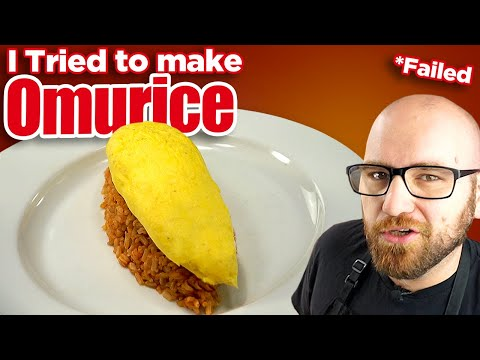Omurice - I Tried To Make The Most Difficult Japanese Omelet