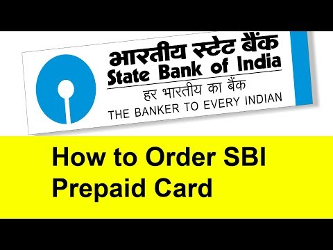 How to Order SBI Prepaid Card | Tamil Banking