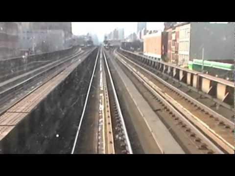 Train Ride into New York 11-20-09
