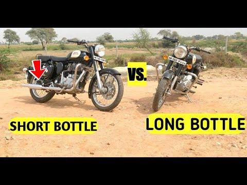 Royal Enfield Silencer Long Bottle Vs Short Bottle Punjab Vs Indori : Best Wins?