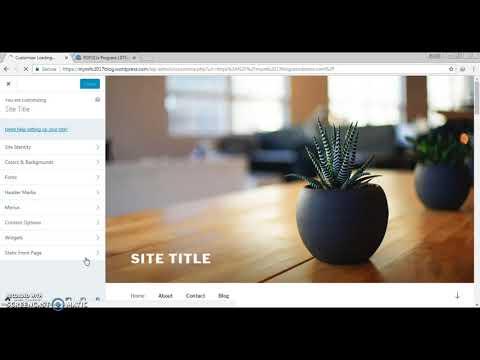 Create free website in wordpress - (In Marathi)