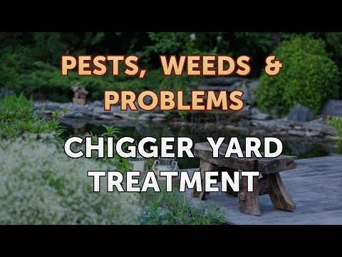 Chigger Yard Treatment