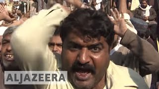 Pakistan asks army to control swelling anti-blasphemy protests