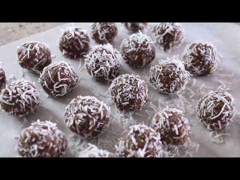 Easy Meal Prep Recipes | Coconut Protein Bites