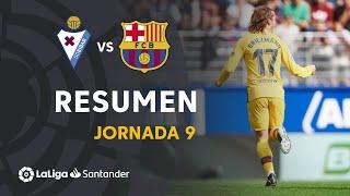 Resumen de SD Eibar vs FC Barcelona (0-3)