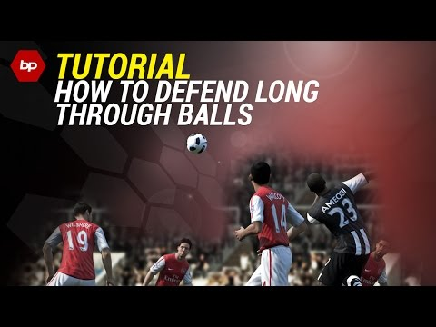 FIFA 15 Defending Tutorial | How to defend High Through Balls | Tips and Tricks