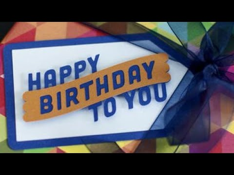 How to Cricut Episode 1: Birthday Gift Tag