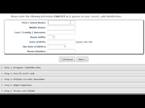 How to apply TSA background check for flight training in USA-part 1 registration