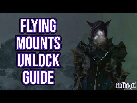 FFXIV Heavensward 3.0 0662 Flying Mount Unlock Guide