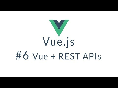 Vue Tutorial #6 - Full REST Example