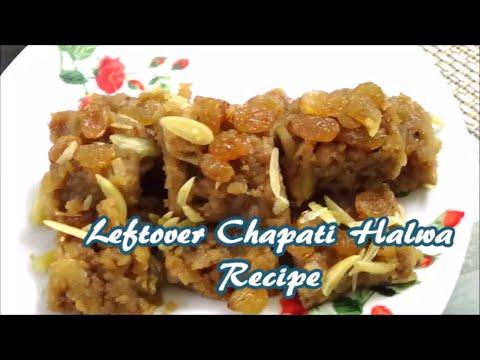 Leftover Chapati Halwa Recipe | Malida Recipe From Leftover Chapati
