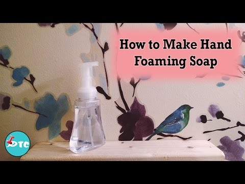 How to Make Super Easy Hand Foaming Soap!!