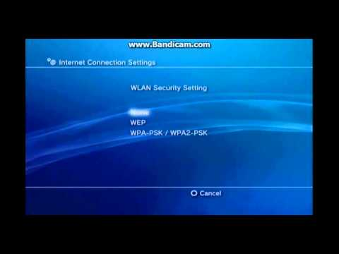 How to configure the wifi in your ps3