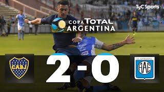 Copa Argentina: Boca 2-0 Estudiantes Rio Cuarto