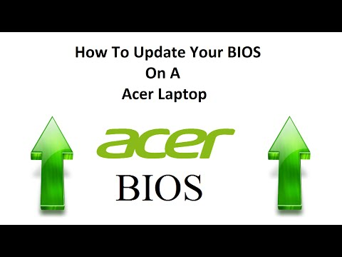 how to update the bios on acer laptop