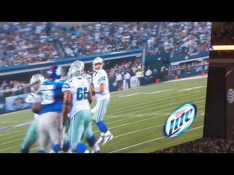 2013 Dallas Cowboys Touchdown (Sept.8 vs New York Giants @AT&T Stadium)