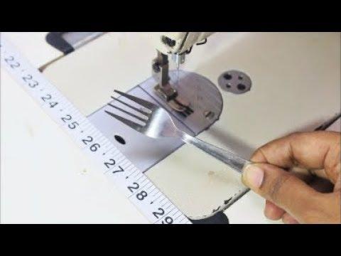 இதை  வைத்தும்  தைக்கலாம்   |  Sewing With The Help Of  Fork