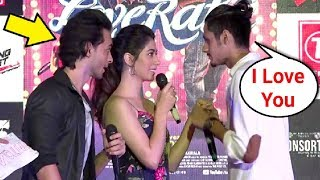 College Student Proposes Warina Hussain In Front Of Aayush Sharma - Loveratri Promotion