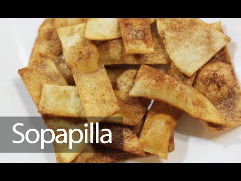 سوبابيلا   رقائق القرفة والسكر المكسيكية - Cinnamon Sopapilla