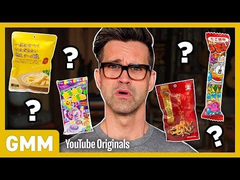 SNACKAGING: Japanese Snack Taste Test