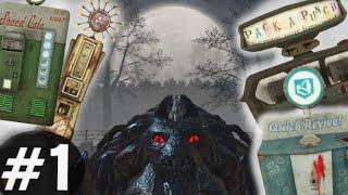 Nacht Der Untoten w/ PERKS & PACK-A-PUNCH! #1 CoD BO1 Zombies Mod Gameplay