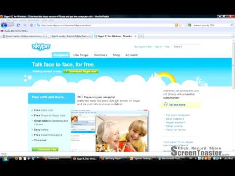 Downloading and Installing Skype Part 1