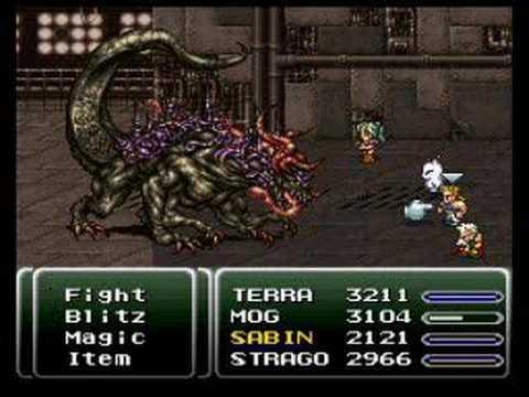 Final Fantasy VI - Atma Boss 46