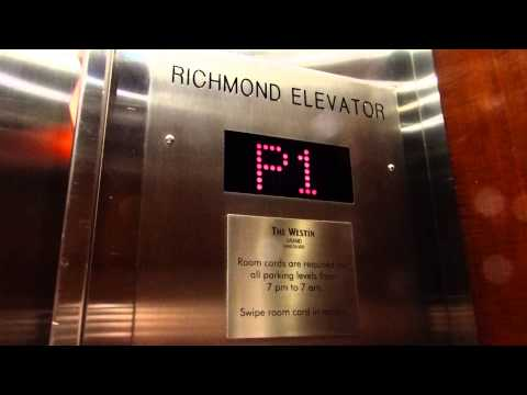 Richmond Hydraulic Elevator at The Westin Grand Vancouver Hotel (Parking) in Vancouver BC