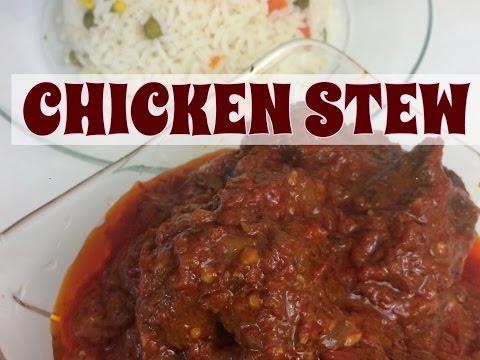 HOW TO MAKE NIGERIAN CHICKEN STEW//