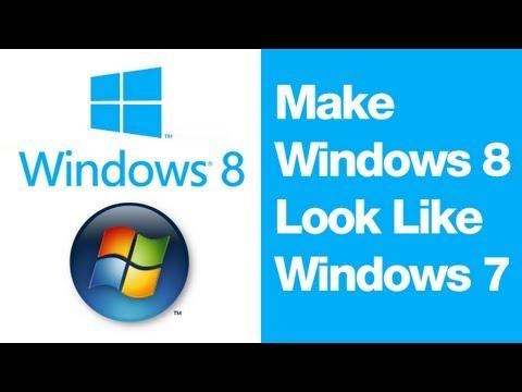 Make Windows 8 Look Like Windows 7