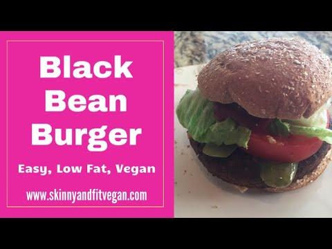 Black Bean Burgers, No Cow, No Egg, No Oil