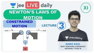 Download Newton's Laws of Motion- Lecture 3 | Unacademy JEE | LIVE DAILY | JEE Physics | Namo Kaul Video